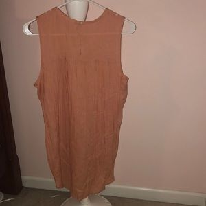 nordstrom rack Tops - Peachy colored long tank/tunic